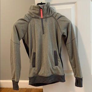 Lululemon Ivivva Size 10 pullover grey
